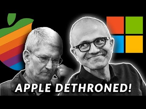 APPLE LY DETHRONED BY MICROSOFTand ANOTHER Company 😮