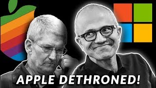 apple-officially-dethroned-by-microsoft-and-another-company