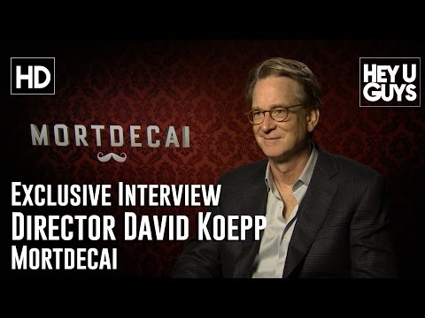 Director David Koepp   Mortdecai