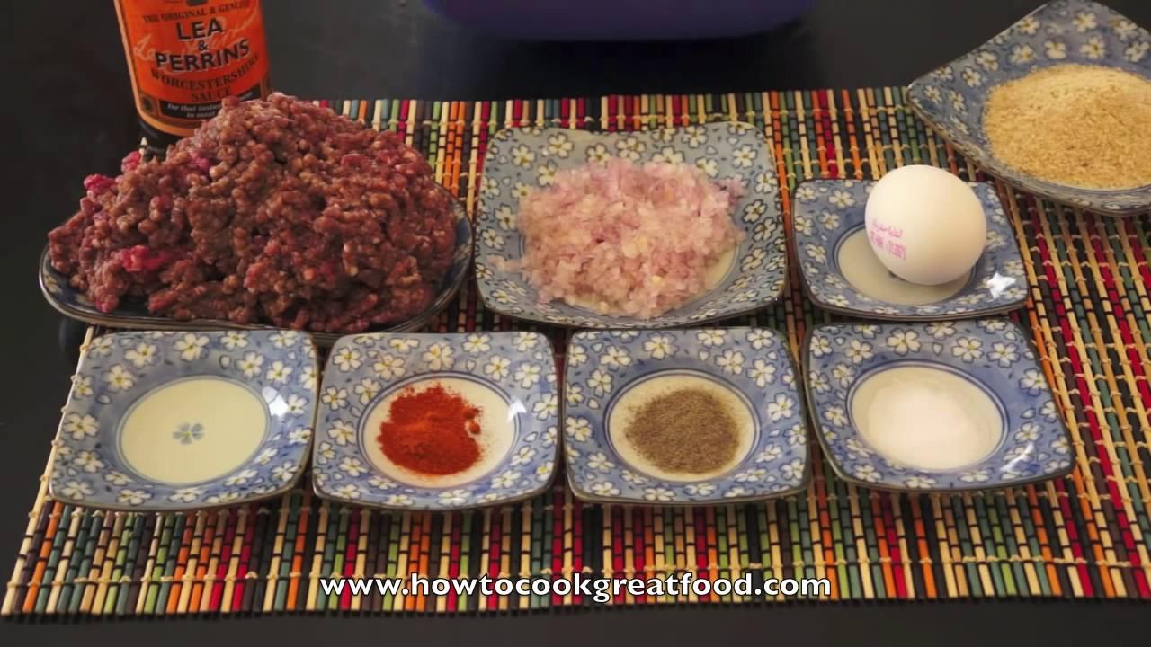 Homemade Juicy Burger Patties Recipe - Super Fast & Tasty Beef Hamburger  Patty