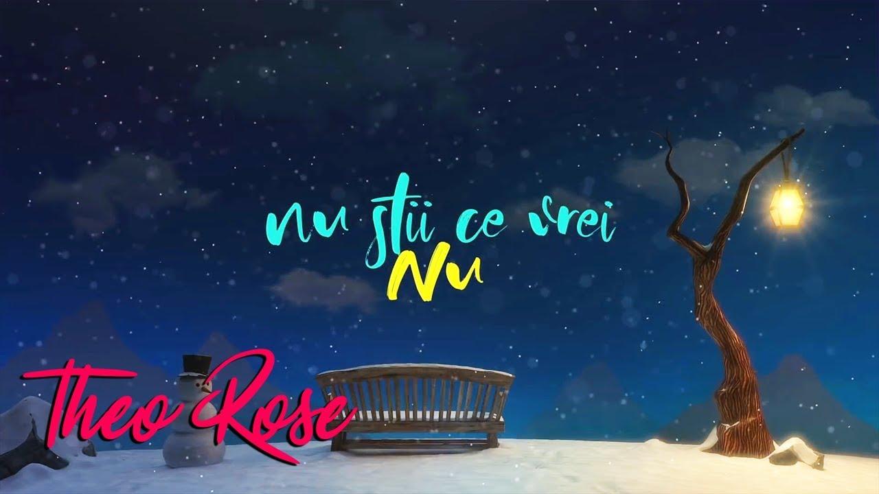 Theo Rose - Nu Stii Ce Vrei   Lyric Video