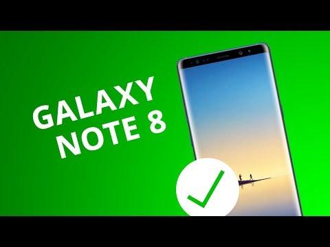 5 motivos para você COMPRAR o Galaxy Note 8