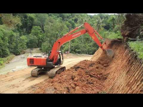 Pelebaran Jalan kecamatan Panyabungan Timur