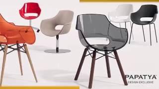PAPATYA Дизайнерские стулья кресла и столы ПАПАТИЯ(Предлагаем посетить нашу Галерею http://papatya.com.ua/gallery.html Торговая марка PAPATYA является ориентиром мебельного..., 2016-03-29T10:20:35.000Z)