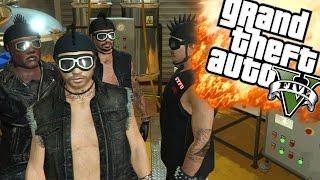 EEN DRUGS LAB! | GTA 5 Online Funny Moments