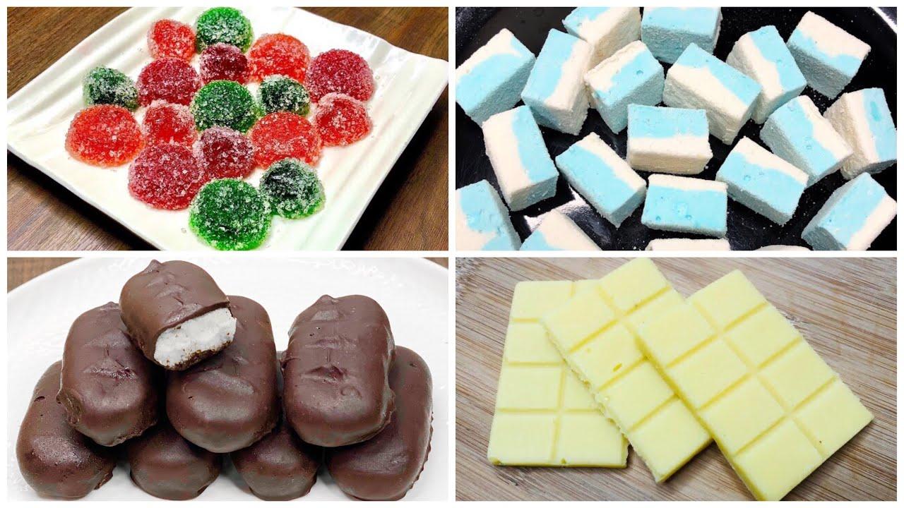 4 Easy Homemade Chocolate Recipe   How to Make Chocolate   Easy Chocolate Recipe