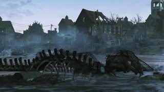 Fallout 4 официальный ролик Far Harbor русские субтитры