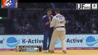 Judo Grand Prix Dusseldorf 2017 Bronze -81kg EGUTIDZE Anri (POR) vs. GOTONOAGA Dorin (MDA)