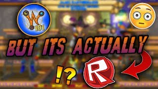 Wizard101 BUT IT'S ACTUALLY ROBLOX? (w/ My Wife!)