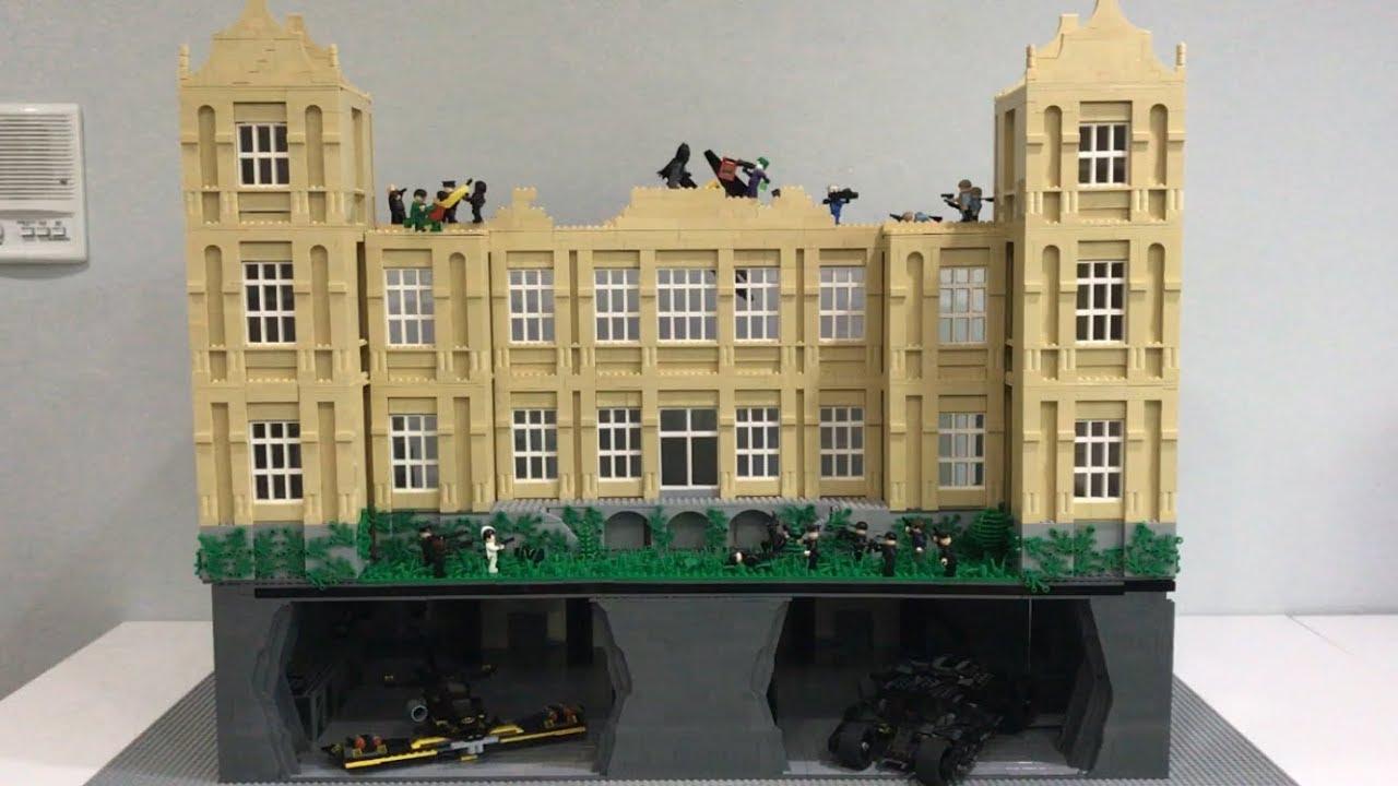 HUGE Lego Wayne Manor And Batcave MOC (10,000+ Pieces ...