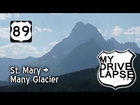 The Beautiful Drive into Many Glacier, Glacier National Park