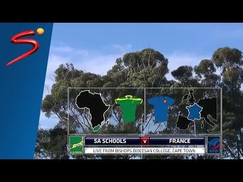 U/19 International Series: South Africa Schools vs France 1st Half