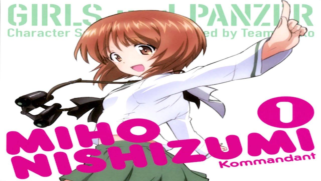Girls Und Panzer Character Song: SCHOOL GIRL, Hajimemasu!