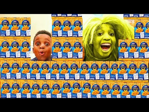Thumbnail: CRAZY MAC AND CHEESE LADY! - Shiloh and Shasha - Onyx Kids