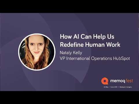 Keynote Presentation - How AI Can Help Us Redefine Human Work