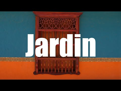 Jardin, Antioquia, Colombia - 4K UHD - Virtual Trip