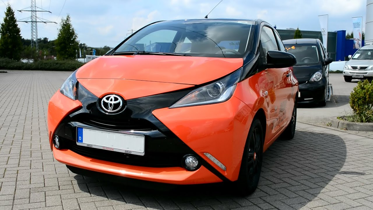 2015 New Toyota Aygo X Cite Youtube