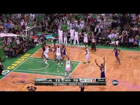 Lakers vs Celtics (06/08/2010) Lakers Highlights (2010 NBA Finals Game 3)