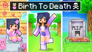 Aphmau's BIRTH to DEATH In Minecraft!
