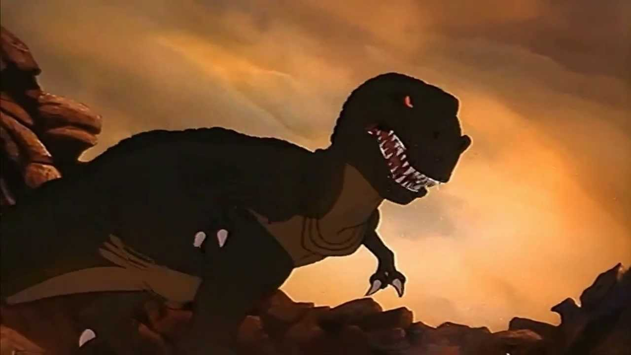 Copy Of Land Before Time Sharptooth Attack And