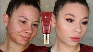 Full-Coverage BB CREAM?! | Missha M Perfect Cover BB Cream Review