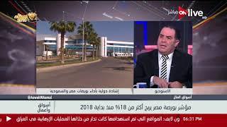 إيهاب سعيد:اضطرابات البورصة المصرية من المستثمرين العرب يرجع إلى اضطرابات في بعض اسواق الدول العربية