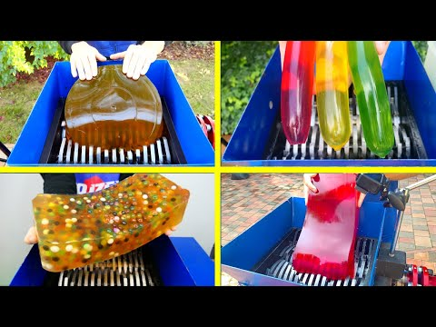 Shredding All Kinds Of Jelly | Satisfying ASMR Video | Gojzer