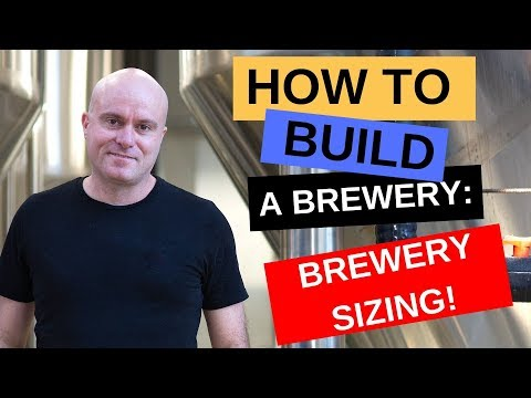 How To Build A Brewery: Brewery Sizing & Why Brewhouse Size Alone Is Irrelevant