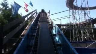 Flume (Log Ride) - POV Playland @ The PNE