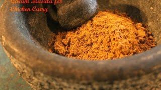 Garam Masala For Chicken Curry