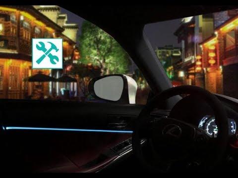lexus-/-door-ambient-led-light-installation-🛠-💡