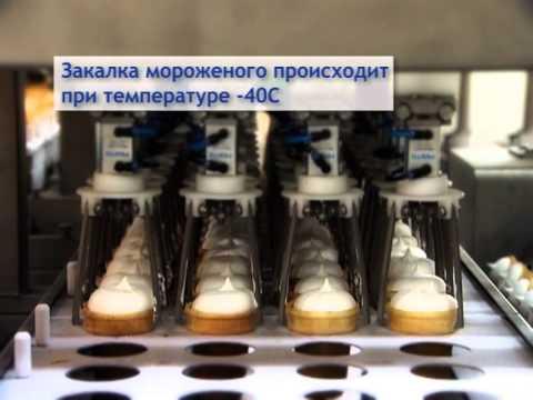 Хладокомбинат №3 Новая линия мороженного