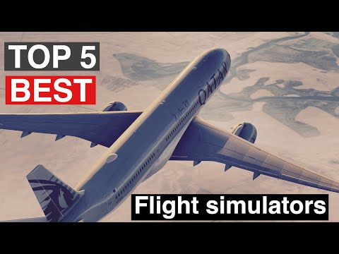 TOP 5 BEST Flight Simulators For IPhone, IPad, IPod Touch And Android