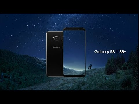 New Samsung Galaxy S8 and S8 plus Official Introduction HD-2017