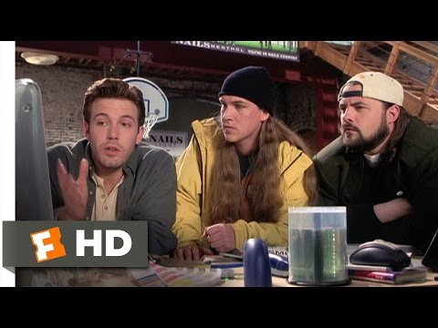 Jay and Silent Bob Strike Back (2/12) Movie CLIP - What the F*** is the Internet? (2001) HD