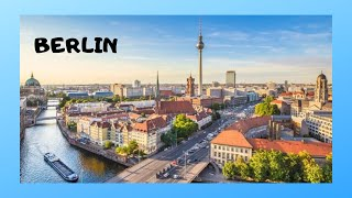 Views of Berlin from the air (Germany)