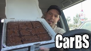 Carbs - Papa John's Double Chocolate Chip Brownie *vomit Alert*