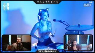 Live Stream Fail: Girl Drumming
