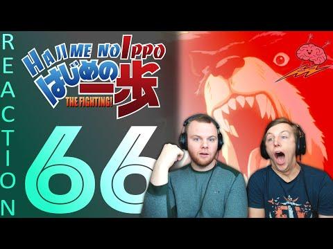 SOS Bros React - Hajime No Ippo Season 1 Episode 66 - Takamura Fights A Bear!