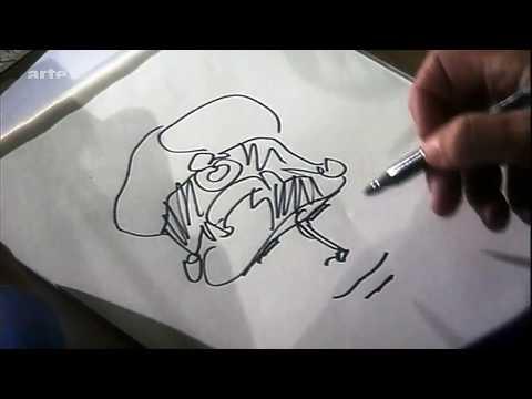Hugo Pratt Drawing Corto Maltese