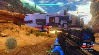 HALO 5 MULTIPLAYER GAMEPLAY - Halo 5 Warzone Online with Vikkstar123