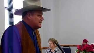john t wayne speaks at event grandson of john wayne