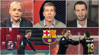 BARCELONA Victoria con todo en Copa del Rey. Messi, Alba y Griezmann, protagonistas | Fuera de Juego