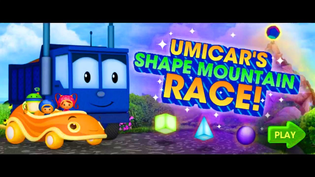 Team Umizoomi: Umicar's Shape Mountain Race | Nick Jr Cartoon Kids Game