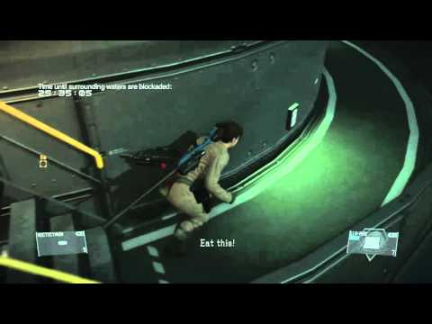 MGS V female soldier Eva suit FOB infiltration |