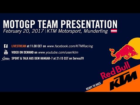 OFFICIAL MOTOGP TEAM PRESENTATION 2017 | KTM