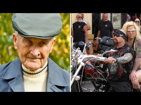 91-Year Old Gets Harassed By 3 bikers, Then Stands Up And Takes The Ultimate Revenge