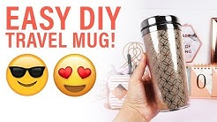 Easy DIY Travel Mug | *NEW* Dovecraft Premium Collection