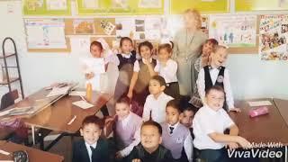 """Открытый урок на тему """" Семья и школа"""" 2Б класс Пригородная СОШ г. Семей"""