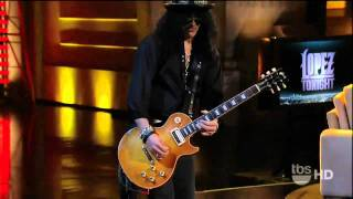 "Slash with Michael Bearden: ""Brown Sugar"" (live George Lopez Show 2011)"